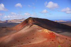 paisaje volcánico en lanzarote