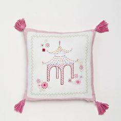 Pink Pagoda Pillow from PoshTots