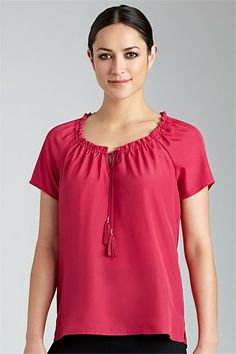 Capture Ruched Top $19 Blouses, Fashion Online, Kids Fashion, Child Fashion, Shirt Blouses, Blouse, Sweatshirts, Kid Styles, Woman Shirt