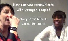 Cheryl Chats with Lashai Ben Salmi for CherylC TV Do What You Want, Young People, Cheryl, Teenagers, Friday, Journey, This Or That Questions, Tv, Friends