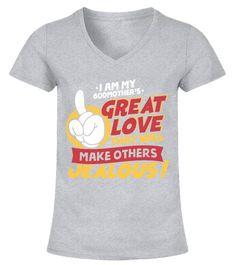 My Godmother in Rhode Island Loves Me Toddler//Kids Short Sleeve T-Shirt