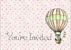Zaproszenie, Prezent, Karty, Design