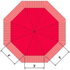 Octagon Layout Calculator For Carpentry Projects Diy