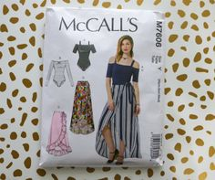 Sewing Perfect Gathers + How-to Mix your Prints – McCall's 7606