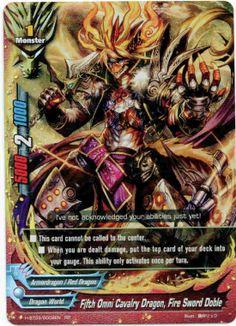 FUTURE CARD BUDDYFIGHT INV FIFTH OMNI DRAGON LORD CRAZED TENBU//H-PP01-0005EN//RRR