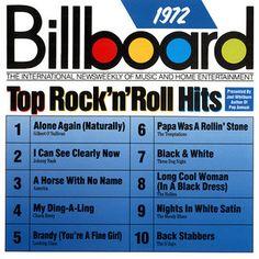 Billboard Top Rock N Roll Hits: 1972