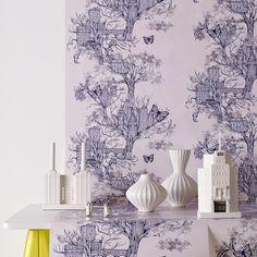 Graham & Brown Urban Tree Wallpaper | 2Modern Furniture & Lighting