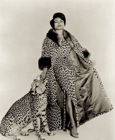 """Catwoman Catwoman's Eartha Kitt Loves Leopard - """"A Look Back"""" is a daily column that highlights a moment from fashion's fabulous past. Today's pick is of American actress and singer Eartha Kitt from the Kitt starred in """"Batman"""" as Catwoman f. Eartha Kitt Catwoman, Potnia Theron, Idda Van Munster, African American Fashion, American Women, African Style, American History, Native American, Vintage Black Glamour"""