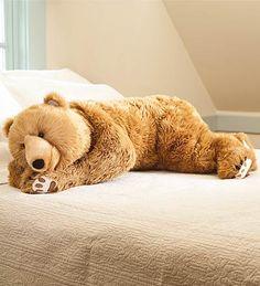 Giant body pillow for the kids! Teddy Bear Hug Body Pillow