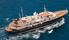 Mega Yacht Sherakhan - Rent it for $526,000 a week: 228 ft. room for 26 guests