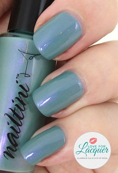 One of three beautiful limited edition shades from Nailtini's Lacquer Cabinet, Love For Lacquer Collection. Shipping in September.