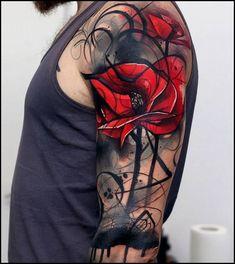 tattoo trash polka frauen / tattoo trash - tattoo trash polka - tattoo trash polka design - tattoo trash polka männer - tattoo trash polka frauen - tattoo trash polka trashpolka - tattoo trash polka for men - tattoo trash polka woman Trendy Tattoos, Tattoos For Guys, Tattoos For Women, Neue Tattoos, Body Art Tattoos, Maori Tattoos, Tattoo Arm, Knot Tattoo, Arabic Tattoos