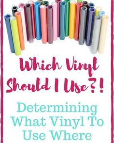 This question gets asked a lot-- so we whipped up a new YouTube video! ( expressions vinyl on YouTube!)