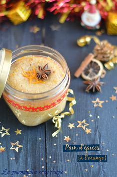 spice bread with orange in jar to offer, Mini Desserts, Dessert Recipes, Spice Bread, Cake In A Jar, Cake Factory, Bowl Cake, Orange, Simply Recipes, Edible Gifts
