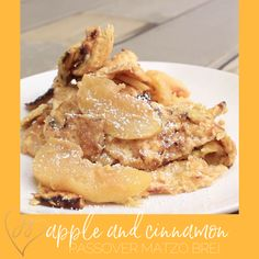 Add some apples and cinnamon to your matzo brei and serve for breakfast or dessert. This hearty matzo brei will not let you down. Gourmet Recipes, Dessert Recipes, Cooking Recipes, Healthy Recipes, Licorice Ice Cream, Passover Desserts, Sweet Breakfast, Cinnamon Apples, Food Print