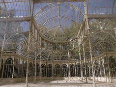 Palacio de Cristal del Retiro (Interior), Madrid, Spain.