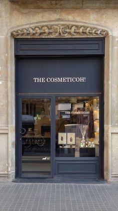 Perfumery and cosmetics. Cosmeticoh shop. Barcelona