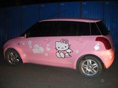@Meagan Parker 's dream car ❤️  #butseriously #hellokittyfever