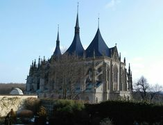 Church of St. Barbara in Kutna Hora, Czechia