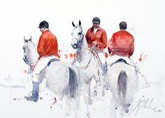No need to say WHO is Joseph Zbukvic and how much he has done to bring the watercolor media to the highlights. Here is the interview with th. Watercolor Animals, Watercolor Paintings, Artist Painting, Painting & Drawing, Who Is Joseph, Joseph Zbukvic, Horse Drawings, Watercolor Techniques, Horse Art