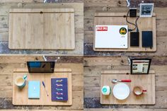 Portable Lap Desk Installation No.1: A desk and more. by Liyang Liu — Kickstarter