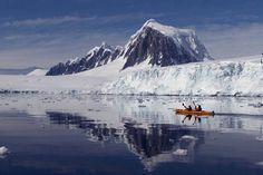 Kyaking in Antarctica
