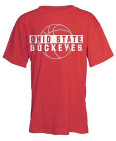 377c03e67 J America Ohio State Buckeyes Basketball Shadow T-Shirt