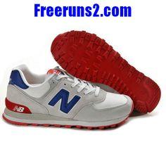 8bb58ee5c2a2 Achat Vente New Balance ML574CVY classic Gris Bleu rouge Chaussures Femmes