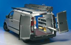 Equipamiento interior de furgonetas taller, Modulos para furgonetas, vehiculo taller