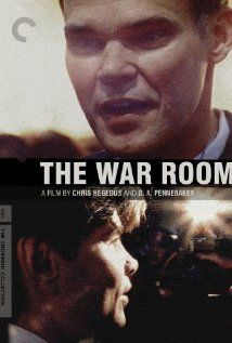 The War Room - A documentary of the Bill Clinton 1992 presidential campaign and the organization who ran it.