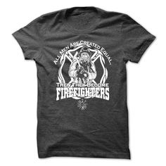 All Men Are Firefighters!. Check this shirt now: https://www.sunfrog.com/All-Men-Are-Firefighters.html?53507