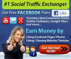 #1 MAKE EASY MONEY by Following, Liking, etc. #2 MAKE MONEY FROM YOUR Referrals You can earn points for telling your friends, family or advertising your banner. http://likesasap.com/promote.php?ref=137208