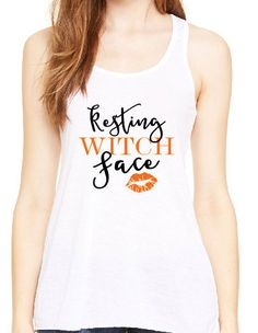 resting witch face shirt halloween shirt custom shirt personalized shirt womens halloween shirt witch face - Halloween Shirts For Ladies