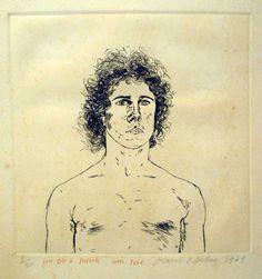 Portraits by David Hockney | David Hockney (b. 1937) - Portrait of Wayne Sleep - Fine Art - Auction ...