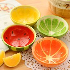 Cute Japanese Food Fruits Rice Salad Pottery Ceramic Soup Porcelain Dinner Bowl