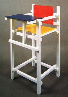 Rene van der Vooren, High Chair, for Studio-Grys