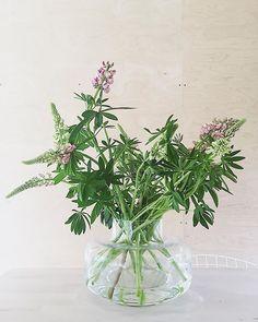 For the Midsummer #wildflowers #marimekko #lupins #seeyousooncottage