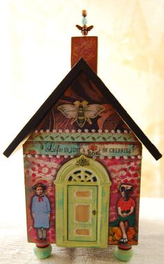 Altered House Sanctuary  Life is Just a Bowl by desertdreamstudios, $75.00