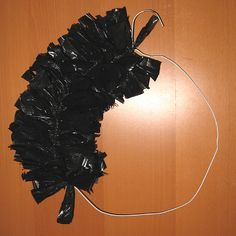 Own Two Hands - Plastic Bag Wreath Tutorial