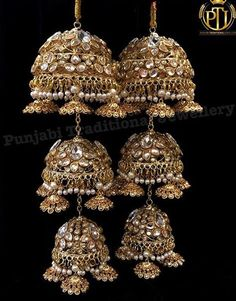 bridal jewelry for the radiant bride Bridal Bangles, Bridal Jewelry Sets, Bridal Accessories, Bridal Jewellery, Hand Accessories, Antique Jewellery, Diamond Jewellery, Ethnic Jewelry, Bridal Chuda