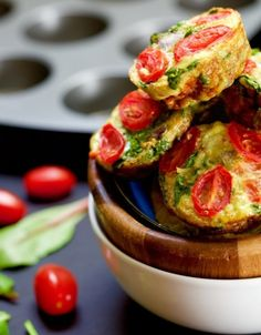 Egg Frittata Breakfast Muffins | 23 Low-Carb Snacks To Eat When You're Trying To Be Healthy