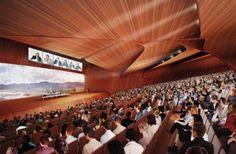 Interior del auditorio.