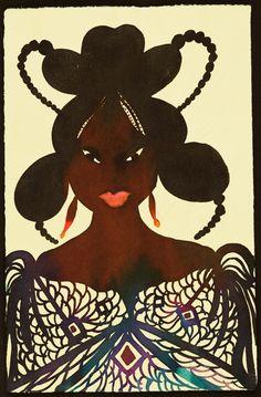 Chris Ofili Untitled Afromuse