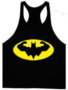 Batman Mens Workout Tank Top T-Shirt Stringer Muscle Racerback Golds Gym Bodybuilding Tops by CrownzOfficial on Etsy Mens Workout Tank Tops, Gym Tank Tops, Workout Tanks, Workout Gear, Workout Fun, Yoga Workouts, Workout Outfits, Batman Shirt, Batman Logo