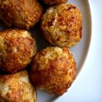 Atkins Garlic Dill Meatballs. Eat as an appetizer or put on top of shirataki noodles for a complete meal!