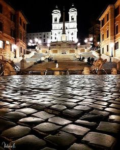 The Spanish Steps, Rome. Places In Italy, Places To See, Wonderful Places, Beautiful Places, Visit Rome, Voyage Rome, San Fransisco, Beautiful Sites, World Cities
