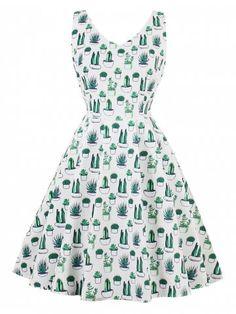 GET $50 NOW | Join RoseGal: Get YOUR $50 NOW!https://m.rosegal.com/vintage-dresses/vintage-v-neck-cactus-print-pin-up-skater-dress-1447418.html?seid=4ln1n9o1u3g0r0sf7tp0sdqdk7rg1447418