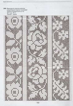 "This material from Anastasia Marusik's book ""The Bar … – knitting charts Cross Stitch Bookmarks, Cross Stitch Borders, Cross Stitch Flowers, Cross Stitch Embroidery, Cross Stitch Patterns, Fair Isle Knitting Patterns, Knitting Charts, Knitting Stitches, Crochet Patterns"