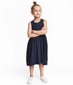 Jersey Dress | Dark blue | Kids | H&M US
