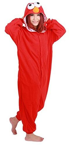 WOWcosplay Unisex All-In-One Pajamas Cosplay Costume Adult Sleepwear,Red Seasame M WOWcosplay http://www.amazon.com/dp/B00W4T3PIO/ref=cm_sw_r_pi_dp_LdGKvb02HQXDR